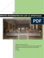 BIOGRAFIAS 12 APOSTOLES