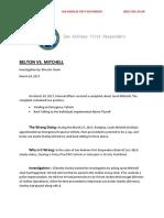 Internal Affairs Belton vs. Mitchell 03/30/17
