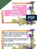 Ikatan Ion Kovalen Gaya Antar Molekul