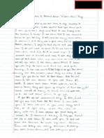 Doll House Letter Sample 2