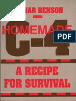 Homemade C4 - A Recipe for Survival - Ragnar Benson (Paladin Press).pdf