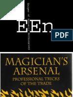 Paladin Press - 1993 - Magician's Arsenal, Professional Tricks Of The Trade - ISBN 0873647416 - 1.pdf