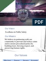Mesa Police Department Presentation