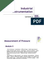 Industrial Instrumentation Module 2