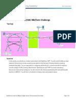 CCNA3 MidTermChallenge
