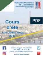 Ccfs Brochure Ete-2017 Francais