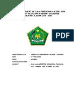 Model Dokumen I KTSP Madrasah Final 2016 - 2017