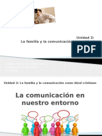 La Comunicación en Nuestro Entorno