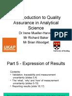 Quality Assurance Part 5