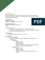 stage 4 - plan de cours 1  sup