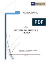 Monografia de sistema puesto a tierra