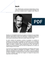 Biografia John Steinbeck