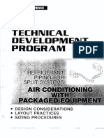 Refrigerant Piping for Split System T200-64