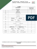 Clave de Examen de Cálculo Diferencial Sem 2016-b