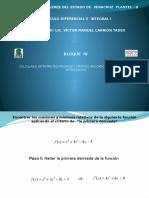 Bloque IV Cálculo - Sem 2013-b