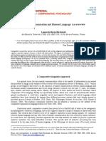 BARON BIRCHENALL - Animal Communication and Human Language