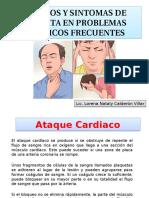 Signos y Sintomas de Alerta en Problemas Médicos