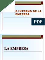 Analisis Interno- Empresa