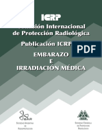 ICRP 84 Embarazo e Irradiacion