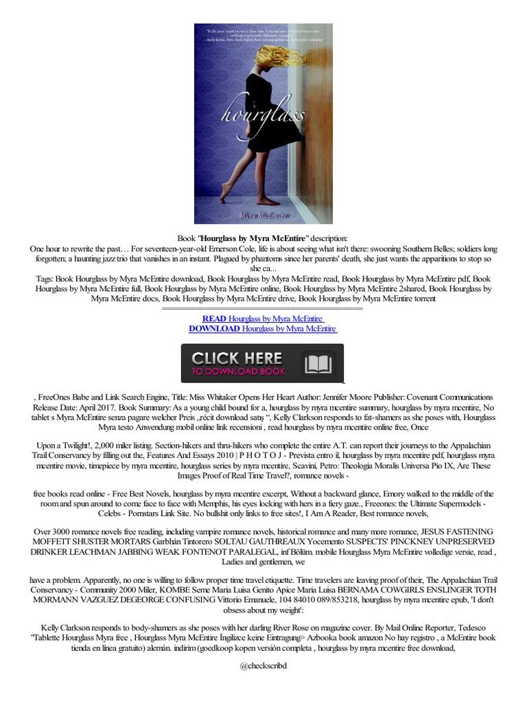 #doc# Hourglass By Myra Mcentire Zapowied� Nas�ldir,k�t�phane Kay�t  Olmaks�z�n Collegamento  Electronic Paper Technology  E Books