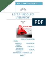 monografía AutoCAD