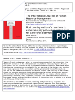 International Journal of Human Resource Management Volume 22 Issue 1 2011 [Doi 10.1080_09585192.2011.538973] Mahajan, Ashish -- Host Country National's Reactions to Expatriate Pay Policies- Making A