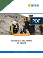 Control y Desatado de Rocas  en minas subterranea