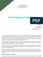 Edith Prerrogativas Procesales