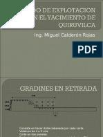 Metodo de Explotacion Quiruvilca
