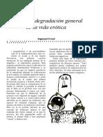 Sobre Una Degradación General