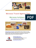 Morocco Travel Agency Morocco Holiday How to Enjoy the Best Places Under the Sun