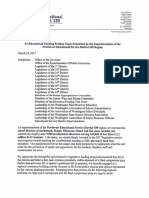 An Educational Funding Position Paper from Superintendents of NW Educational Service District 189, Washington