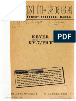 TM11-2669 Keyer KY 7 FRT, 1945