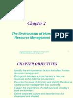 ch2-HRM environment