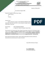 Surat Permohonan UNBK
