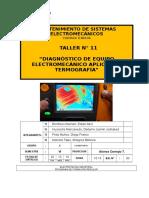 Diagnóstico de Equipo Electromecánico Aplicando Termografía