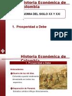 Diapositivas Historia, Prosperidad a Debe