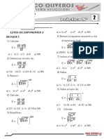Práctica de Selección Primaria - Álgebra 2 1454