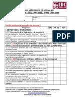 3- Lista de Verificacion Tri Norma 9001 14001 18001 Rev 00