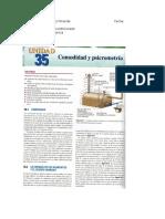 Carta Psicrometría Refrigeración