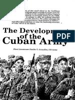 El Ejercito Cubano 1981, Military Review