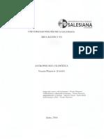 Antropología filosófica - Vicente Plasencia Llanos