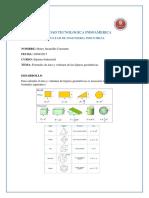 Universidad Tecnologica Indoamerica formulas para calculo de volumen y area