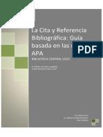 Citas Bibliograficas APA