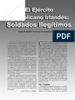 El Ejército Republicano Irlandes, Military Review