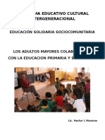 Programa Educativo Sociocomunitario