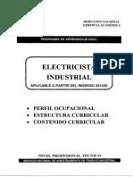 PEA Electricista Industrial 201420