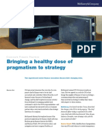 Bringing a Healthy Dose of Pragmatism to Strategy