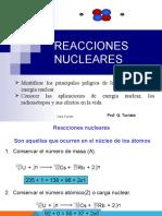 Clase Reacciones Nucleares 2017-1