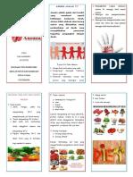 Leaflet Nutrisi Anemia